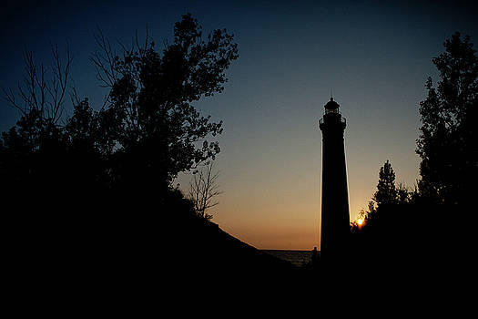 Rich Sirko - Little Sable Point Lighthouse at Sunset