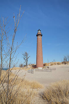 Little Sable Point Lighthouse by Fran Riley