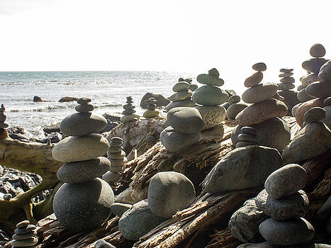 Little Stone Sculptures by Trance Blackman