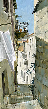 Little Street In Dubrovnik by Sakurov Igor