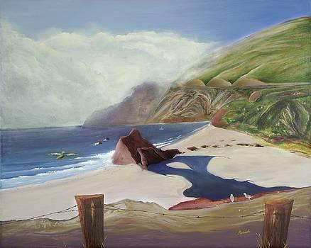 Little Sur River by Paintings by Parish
