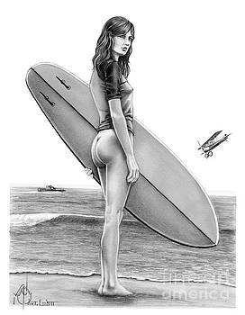 Little Surfer Girl by Murphy Elliott