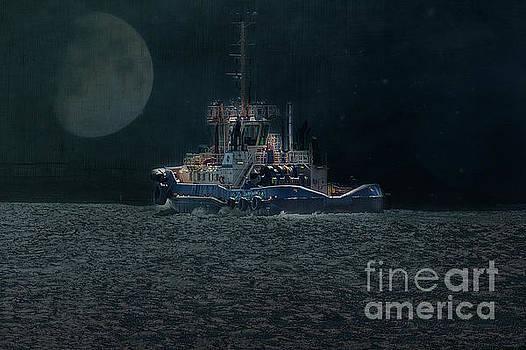 Little Tug Boat by Elaine Teague