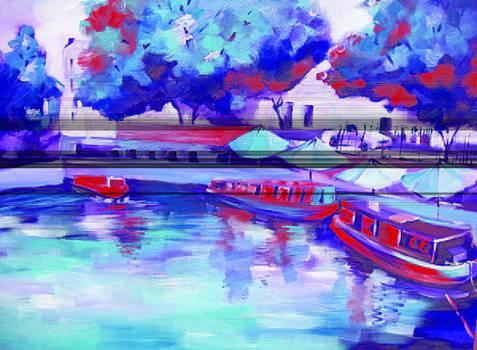 Little Venice In Notinghillgate London by Michael Echekoba