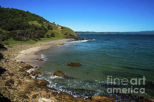 Little Wategos Beach by Andrew Michael
