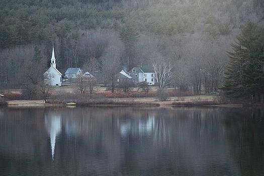 Little White Church NH by Jeffrey Akerson