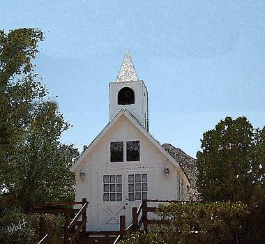 Little White Church by Walter Chamberlain