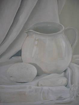 Little White Jug by Caroline Philp