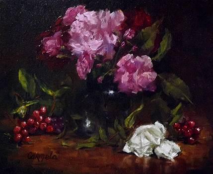 Little White Roses by Carmela Brennan