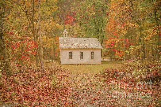 Little White Schoolhouse by Randy Steele