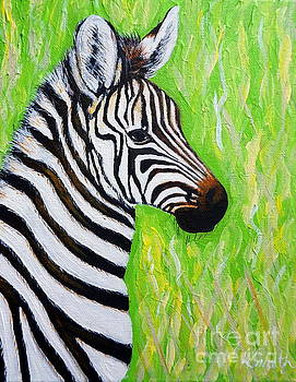 Little Zebra by Kirsten Sneath