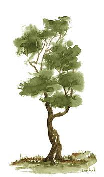 Little Zen Tree 139 by Sean Seal