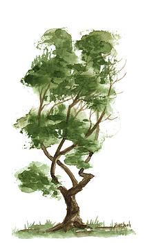 Little Zen Tree 140 by Sean Seal