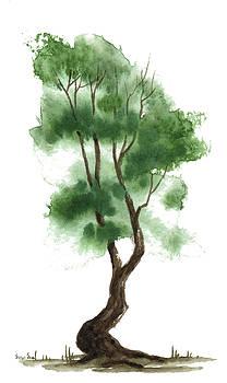 Little Zen Tree 141 by Sean Seal