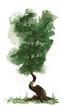 Little Zen Tree 143 by Sean Seal