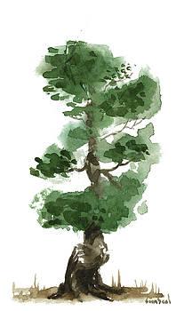 Little Zen Tree 144 by Sean Seal