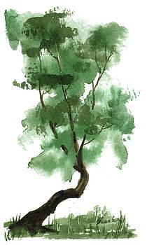 Little Zen Tree 146 by Sean Seal