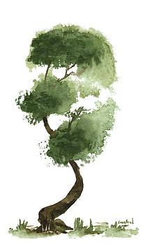 Little Zen Tree 147 by Sean Seal