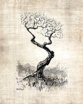Little Zen Tree 1820 by Sean Seal