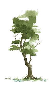 Little Zen Tree 203 by Sean Seal