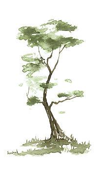 Little Zen Tree 204 by Sean Seal