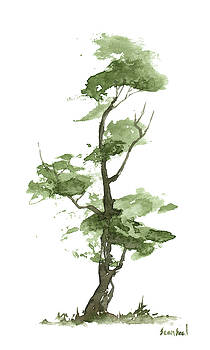 Little Zen Tree 205 by Sean Seal
