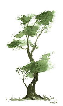 Little Zen Tree 209 by Sean Seal