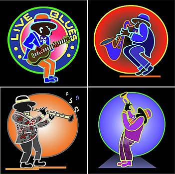 Live Blues by James  Mingo