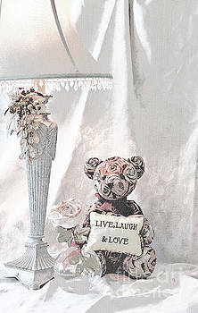 Live, Laugh and Love Bear by Sherry Hallemeier