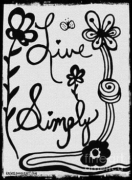 Live Simply by Rachel Maynard