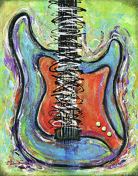 Live to Play Guitar by Elena Feliciano