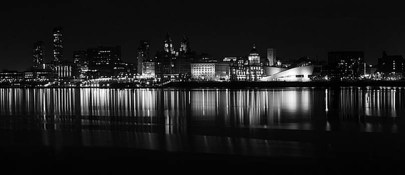 Liverpool Cityscape by David Chennell