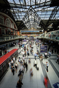 Liverpool St Station by Steve Caldwell