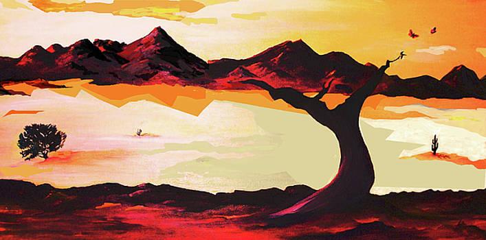 Living Desert - Sunrise Sunset by AnDe Herbert