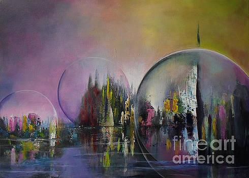 Living in a bubble by Lia Van Elffenbrinck