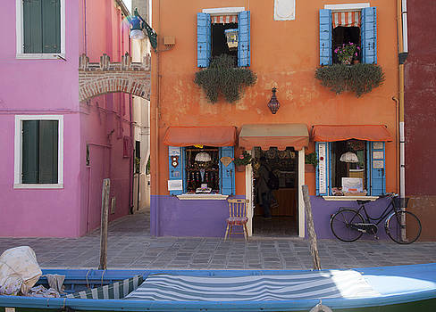 Living in a Dream Burano Italy by Denise Rafkind
