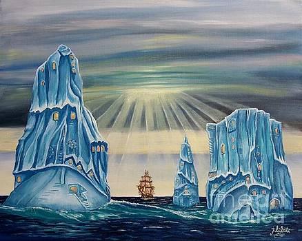 living in Iceberg  by Esam Jlilati