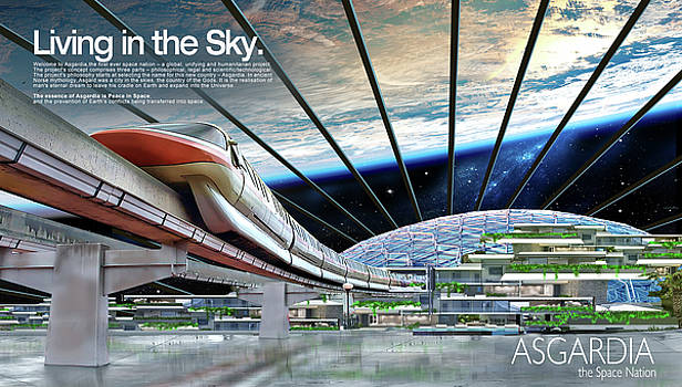 James Vaughan - Living in the Sky - text