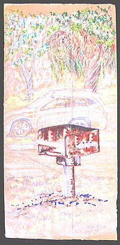 Living in Your Car by Radical Reconstruction Fine Art Featuring Nancy Wood