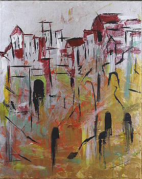Living On A Cliff by Seema Varma