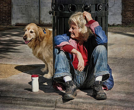 Living On The Streets Is Lonely  by Bob Kramer