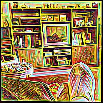 Living Room by Anne Thurston
