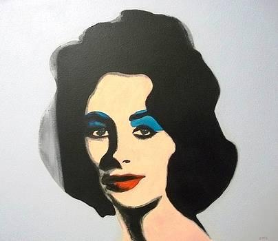 Liz after Warhol by Paul Bokvel Smit