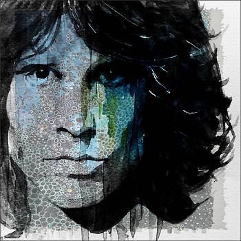Lizard King  Jim Morrison  by Paul Lovering