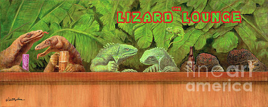 Lizard Lounge... by Will Bullas