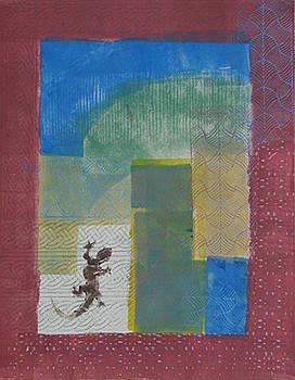 Lizard Maze by Libby  Cagle