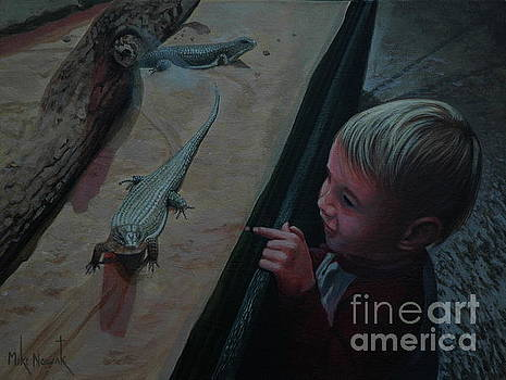 Lizards at the Zoo by Michael Nowak