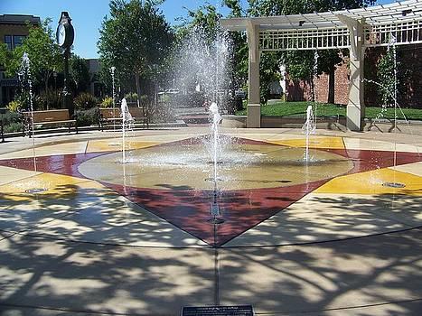Lizzie Park Fountain by Maggie Cruser