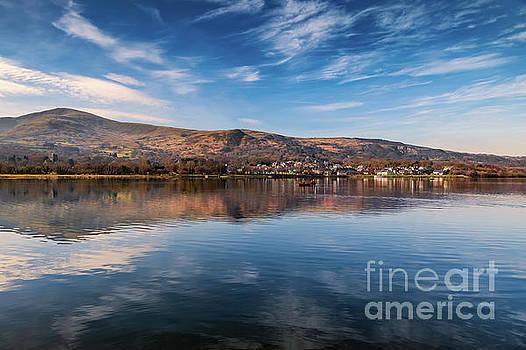 Adrian Evans - Llanberis Lake Reflections