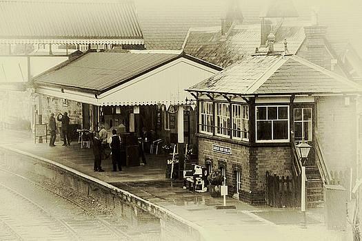 Llangollen station by Susan Tinsley